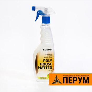 Полироль матовая для мебели PolyHouse Matted - 500мл